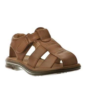 Brown Buckle Sandal