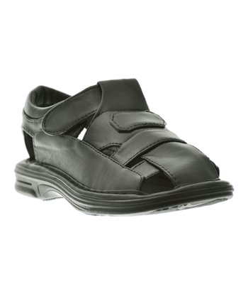 Black Leisure Sandal