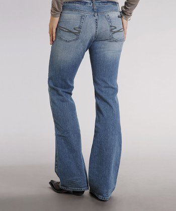 Hi-Lo Wash 816 Classic Stretch Bootcut Jeans - Women