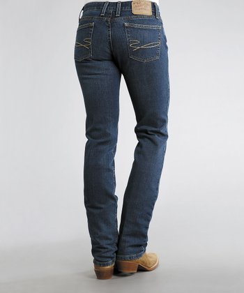 Blue 831 Fit Arrow Stretch Straight-Leg Jeans - Women