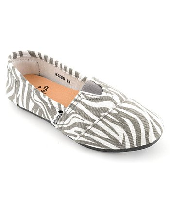 Zebra Slip-On Shoe