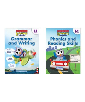 Learning Express Language Arts Paperback Set: Grade 1