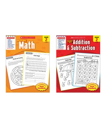 Scholastic Success with Math Paperback Set: Grade 2