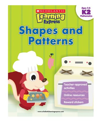Learning Express: Shapes & Patterns K2 Paperback