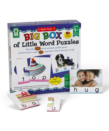 Big Box of Little Word Puzzles Set