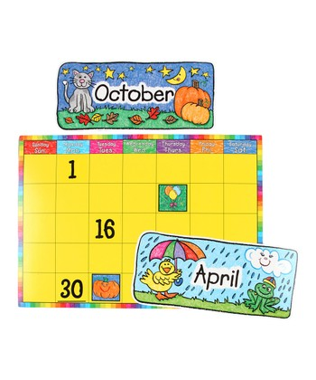 Kid Drawn Calendar Set