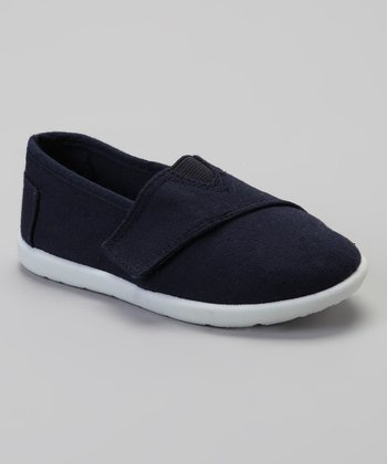 Navy Slip-On Shoe