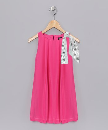 Fuchsia Bubble Dress - Toddler