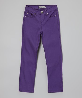 Purple Jeans - Toddler & Girls