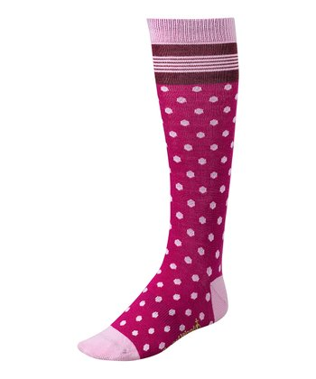 Berry Oui Mademoiselle Wool-Blend Knee-High Socks - Girls