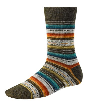 Loden Heather Margarita Wool-Blend Socks - Women