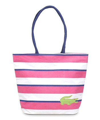 Alligator Appliqué Chesapeake Beach Tote