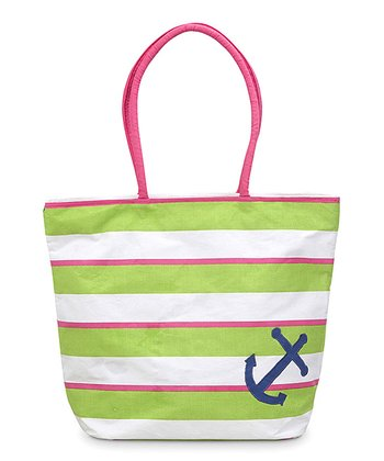 Anchor Appliqué Chesapeake Beach Tote