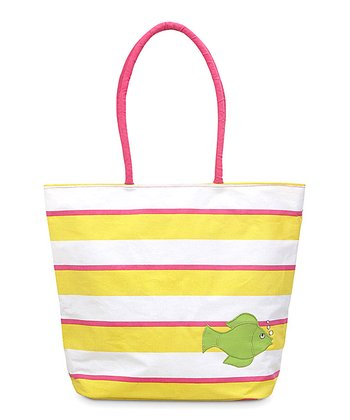 Fish Appliqué Chesapeake Beach Tote