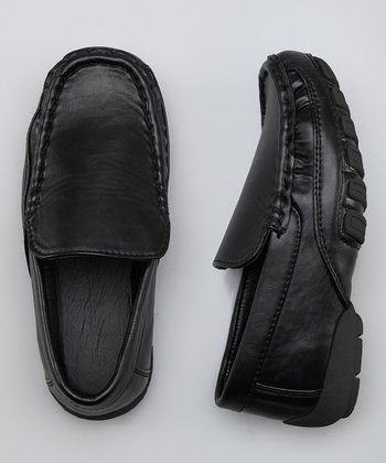 Black Wrinkle Loafer