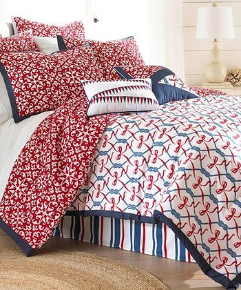 Nautical Embellished Comforter Set