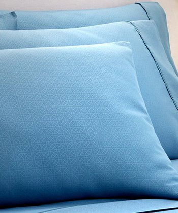 Blue Kensington Hotel Sheet Set