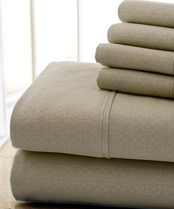 Taupe Kensington Hotel Sheet Set