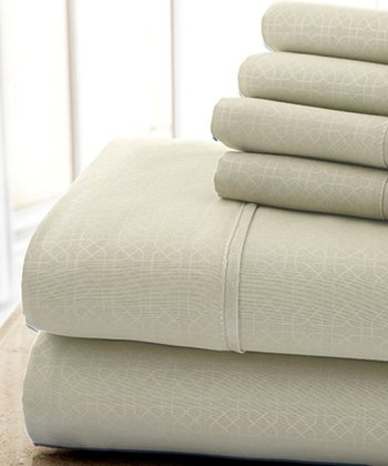 Vanilla Kensington Hotel Sheet Set