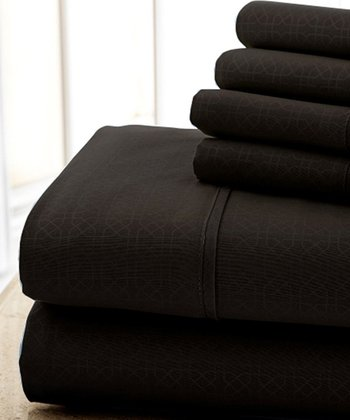 Chocolate Kensington Hotel Sheet Set
