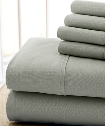 Gray Kensington Hotel Sheet Set