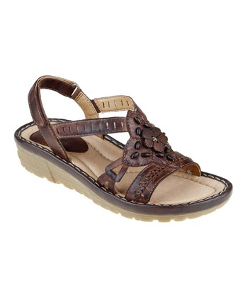 Brown Downeaster Sandal - Women