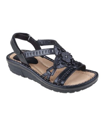 Black Downeaster Sandal - Women