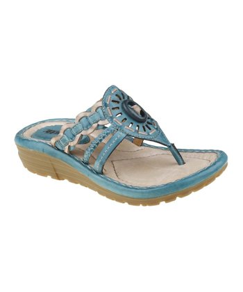 Light Teal Gale Sandal - Women