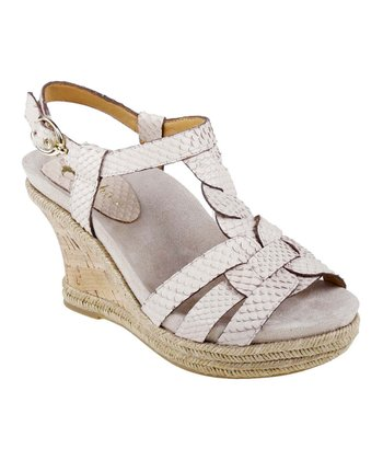 Biscuit Corsica Wedge Sandal