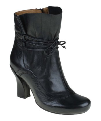 Black Eleganza Ankle Boot