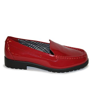 Cherry Red Patent Miller Loafer