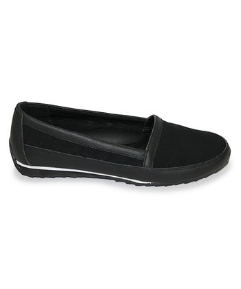 Black Extatic Slip-On Sneaker