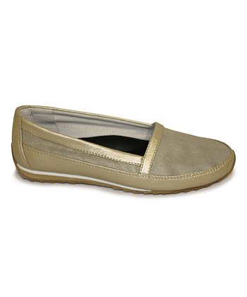 Gold Extatic Slip-On Sneaker