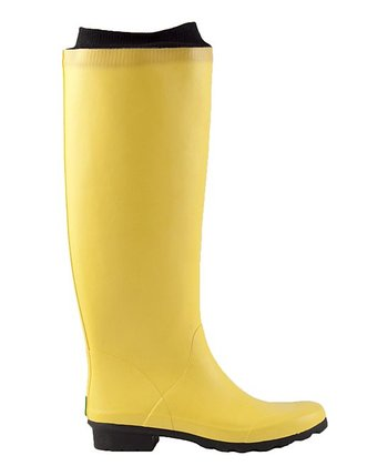 Yellow Jube Rain Boot
