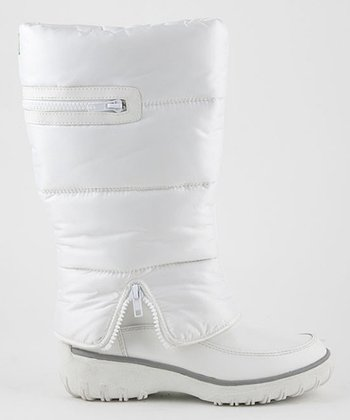 White Ringer Boot