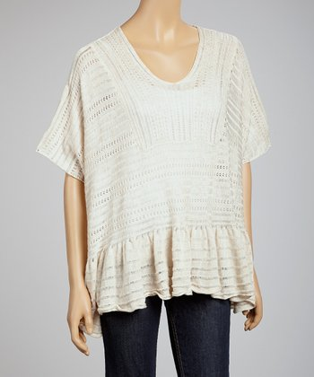 Natural Dolman Top