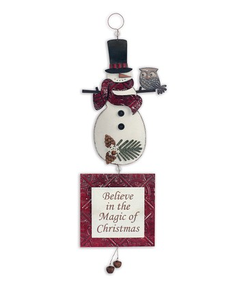'Snowman' Sign