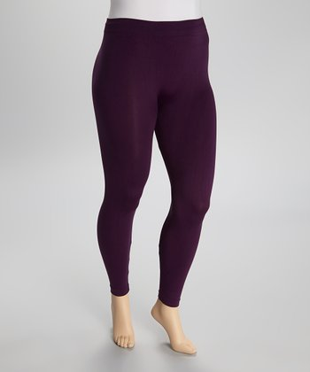 Purple  Leggings - Plus