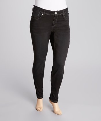 Miracle Lurex Jeans - Plus