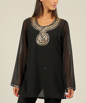 Black Serpent Tunic
