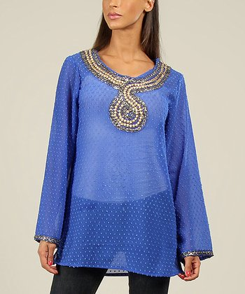 Blue Serpent Tunic