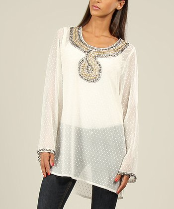 White Serpent Tunic