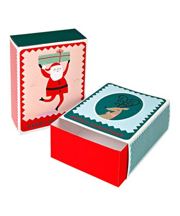 Santa & Reindeer Match Gift Box Set