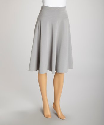 Gray Skirt - Women & Plus