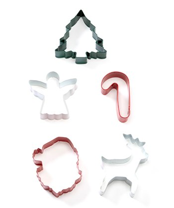 Holiday Five-Piece Cookie Cutter Set