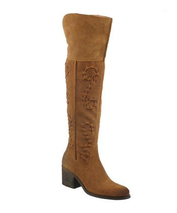 Brown Suede Noble Boot