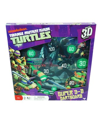 Teenage Mutant Ninja Turtles 3-D Dart Game