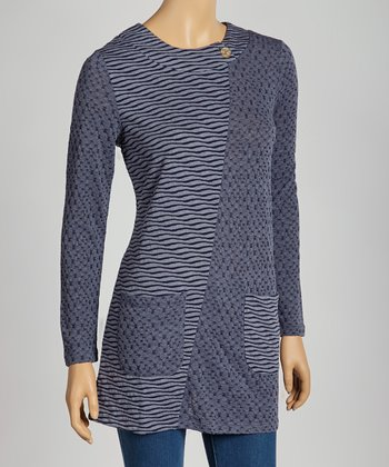 Indigo Wave Sweater - Women