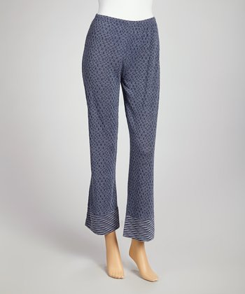 Indigo Cropped Pants