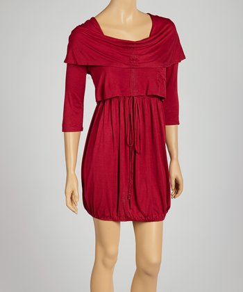 Ruby Tiered Tie-Waist Dress